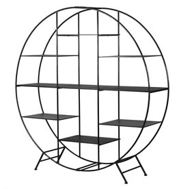Large Round Shelf Unit