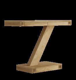 HomestyleGB Z Designer Solid Oak Modern Console Table