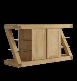 HomestyleGB Z Designer Solid Oak Large Sideboard