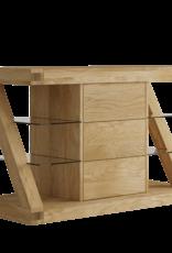 HomestyleGB Z Designer Solid Oak Small Sideboard