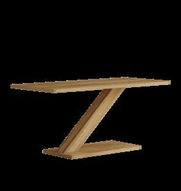 HomestyleGB Z Designer Solid Oak Modern Coffee Table