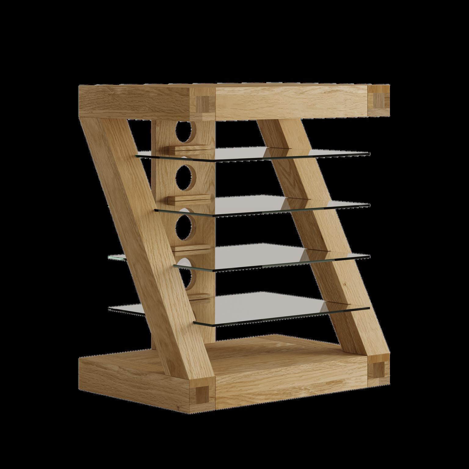 HomestyleGB Z Designer Solid Oak HiFi Unit