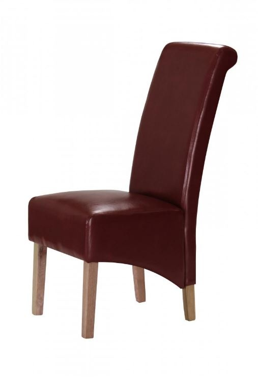 Kelsey Bonded Leather Red - Pair