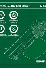 Kingfisher Garden Leaf Blower & Vacuum