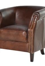 Vintage Mayfair Leather Armchair
