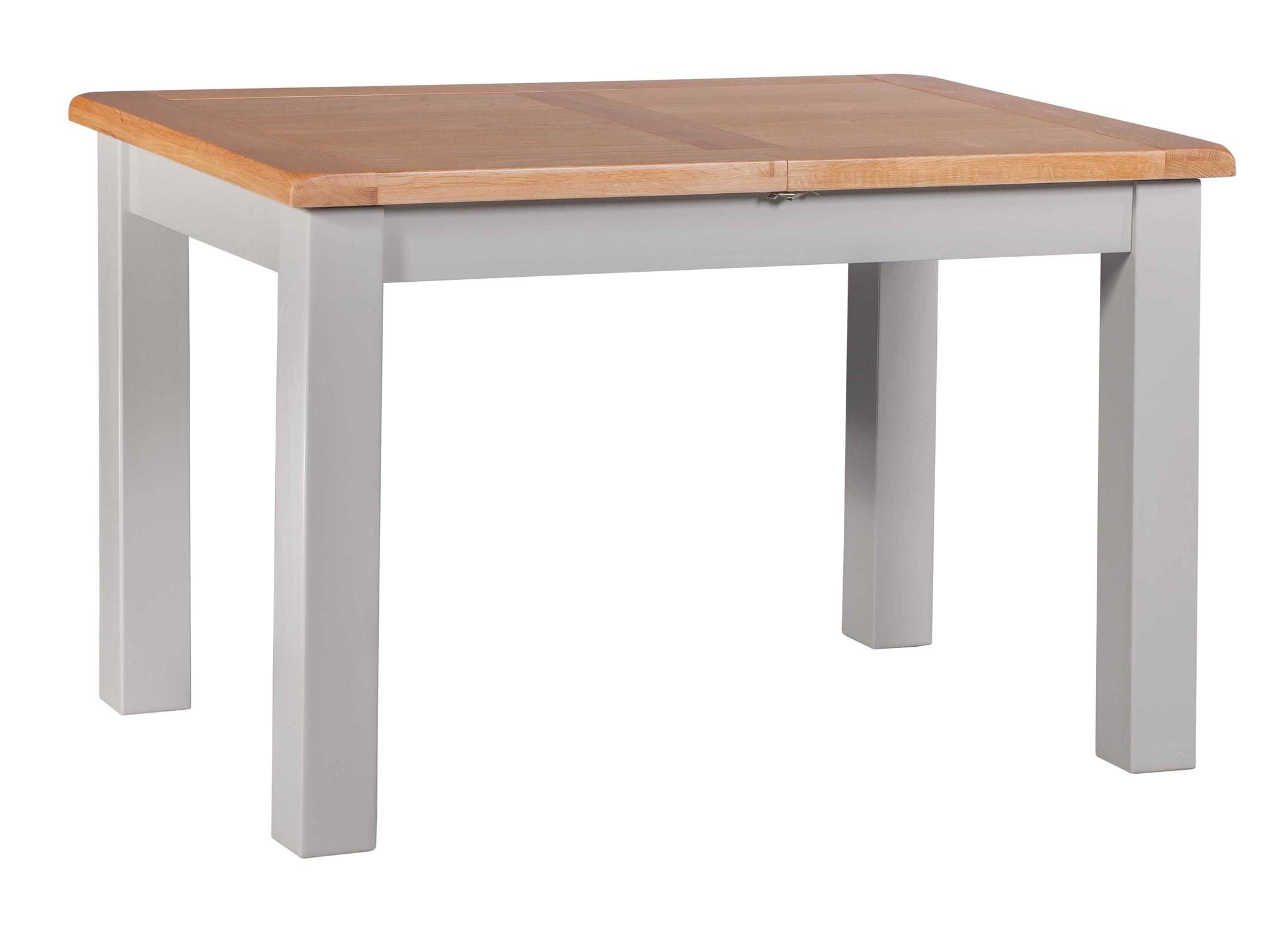 HomestyleGB Diamond Painted Small Extending Dining Table