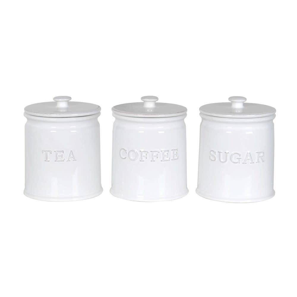 Ceramic Tea,Coffee & Sugar Jars