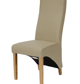 HomestyleGB Wave Matt Bone Dining Chair