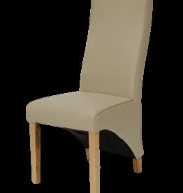 Wave Matt Bone Dining Chair