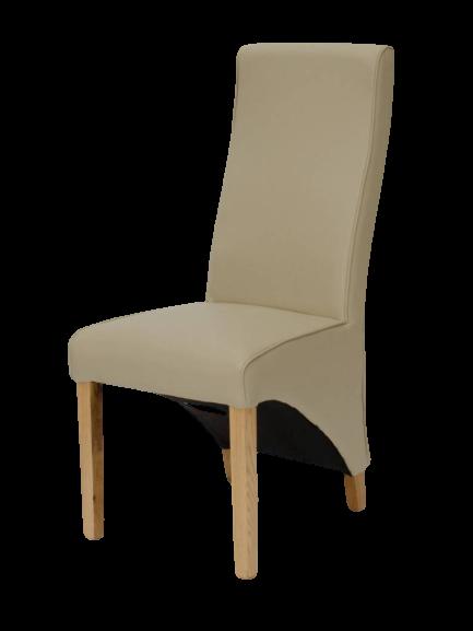 HomestyleGB Wave Matt Bone Dining Chair