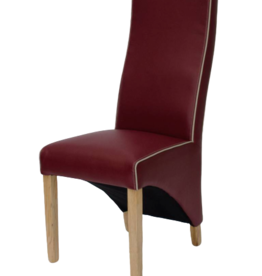 HomestyleGB Wave Monza Ruby Dining Chair