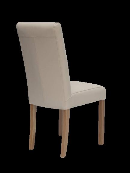 HomestyleGB Marianna Cream Leather Dining Chair
