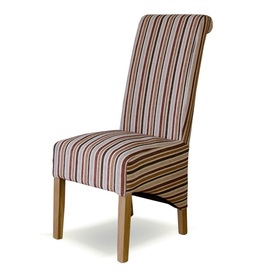 HomestyleGB Richmond Royale Striped Dining Chair