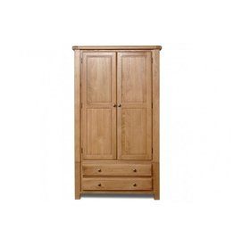 Woodstock 2 Door 2 Drawer Wardrobe