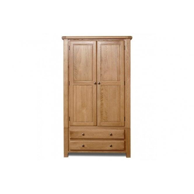 Woodstock 2 Door 2 Drawer Wardrobe