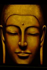 Hill Interiors Hand Painted Large Tara Buddha Canvas