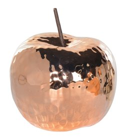 Copper Ceramic Apple
