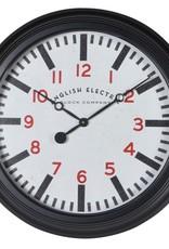 'English Electric' Black Wall Clock