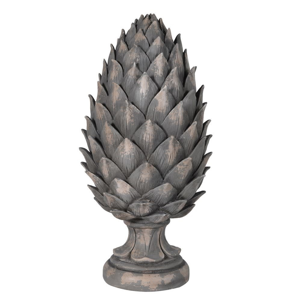 Tall Closed Pine Cone Decoration