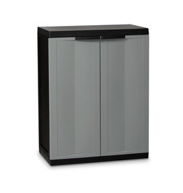Kingfisher Medium Garden Storage Cabinet Dark Grey
