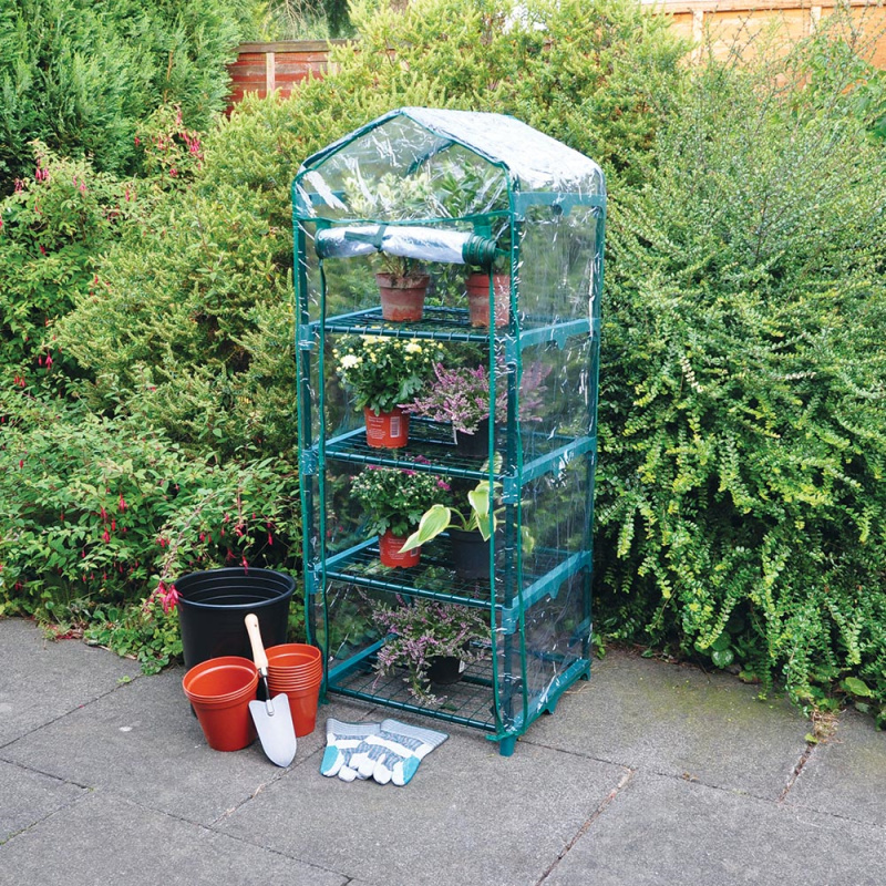 Kingfisher Four Tier Greenhouse