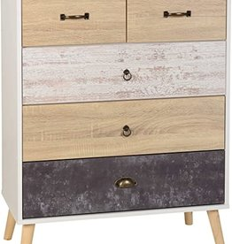 Seconique Nordic 3+2 Drawer Chest