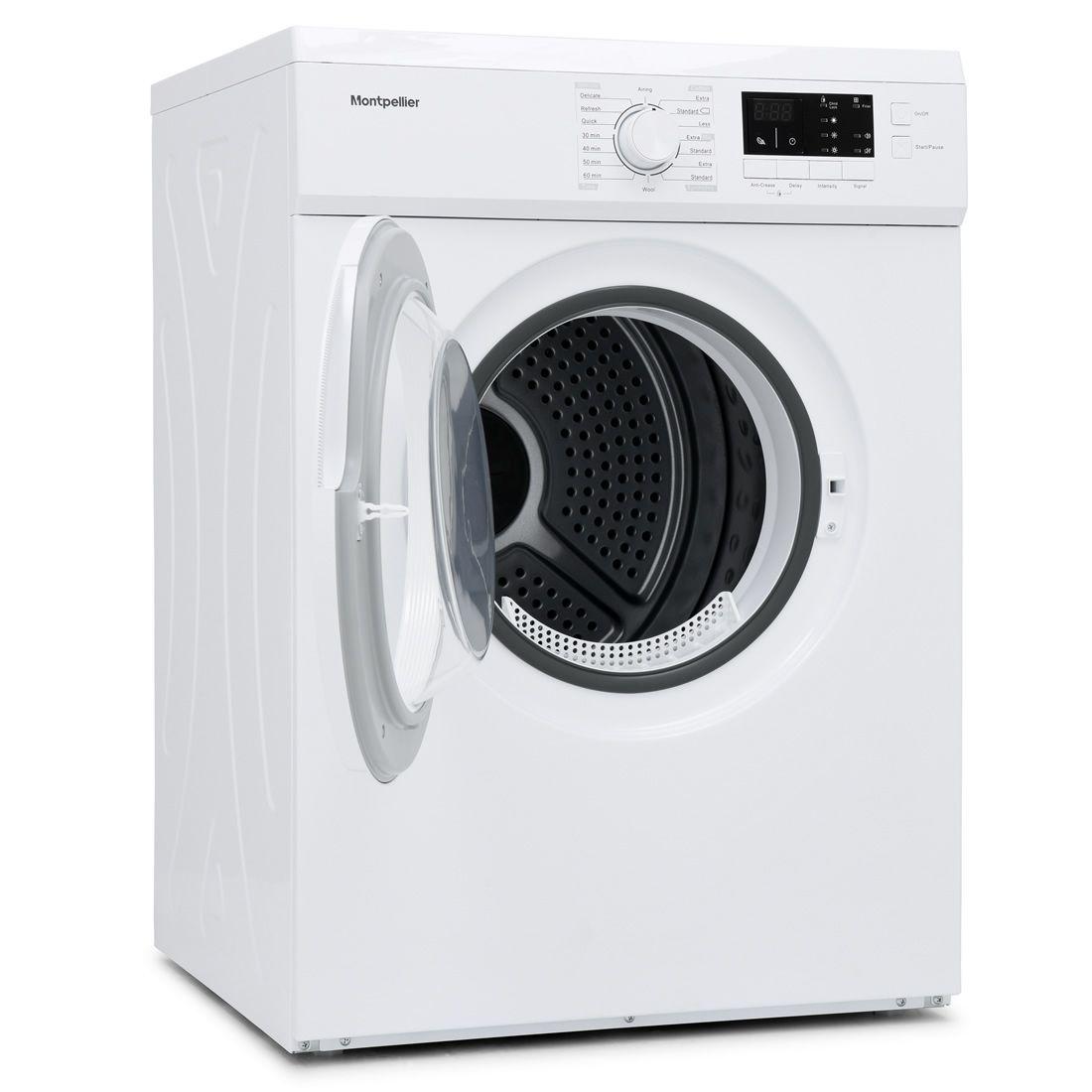 Montpellier Montpellier MVSD7W  7kg Vented Tumble Dryer