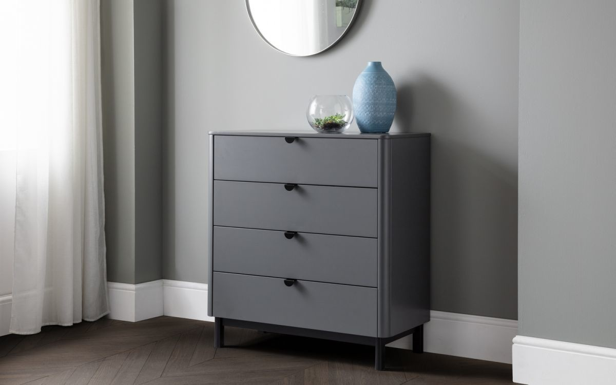 Chloe 4 Drawer Chest
