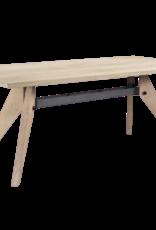 Besp-Oak Oslo Vintage Brown Fuji Dining Table