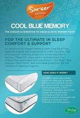 Sareer Cool Blue Memory Foam Mattress