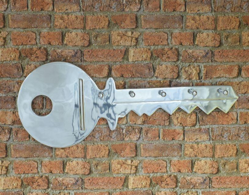 Aluminium Key Coat Rack