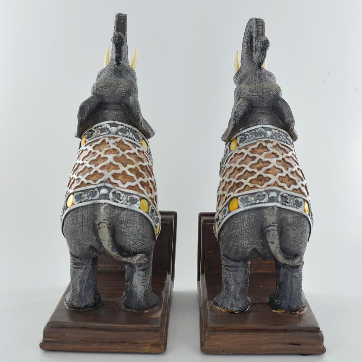 Elephants Bookends