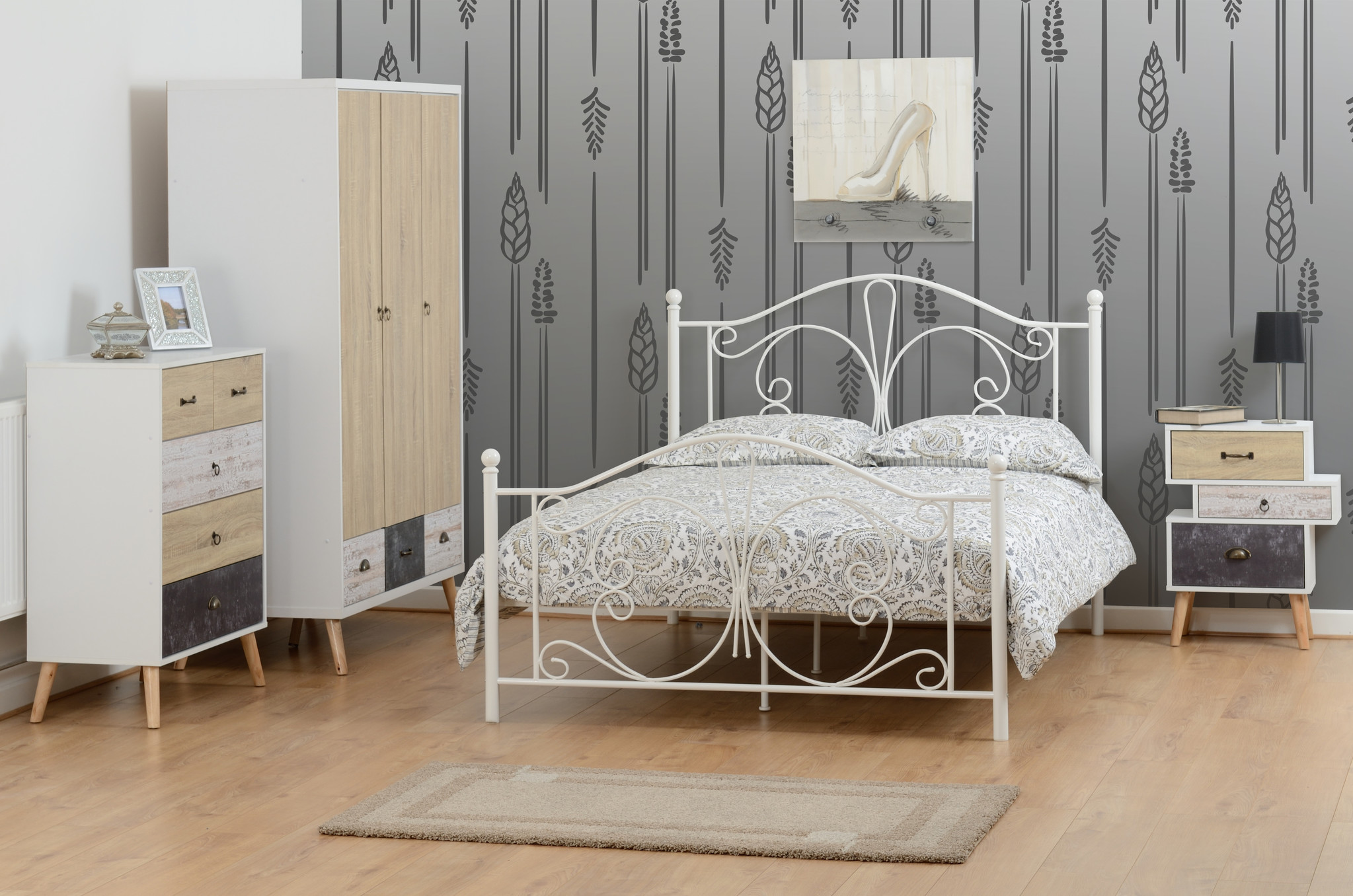 Seconique Annabel Metal Bed