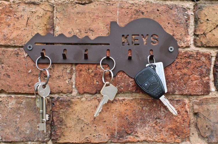 Bronze Metal Key Hook