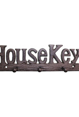 Rustic Cast Iron House Keys Hooks