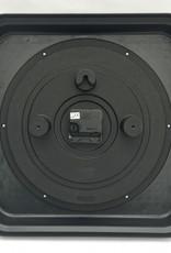 Square Black Wall Clock