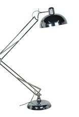 Chrome Floor Angle Lamp