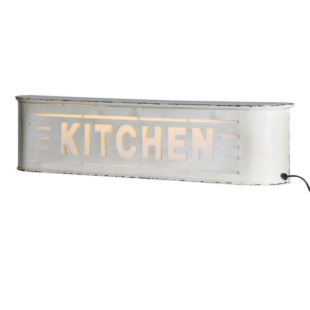 Retro Metal Kitchen Light Box