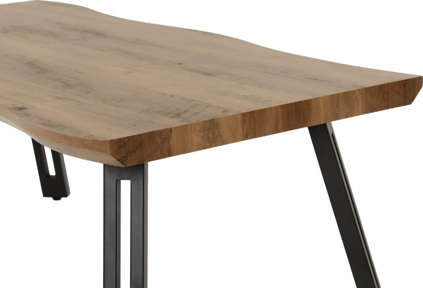 Industrial Style Wave Coffee Table