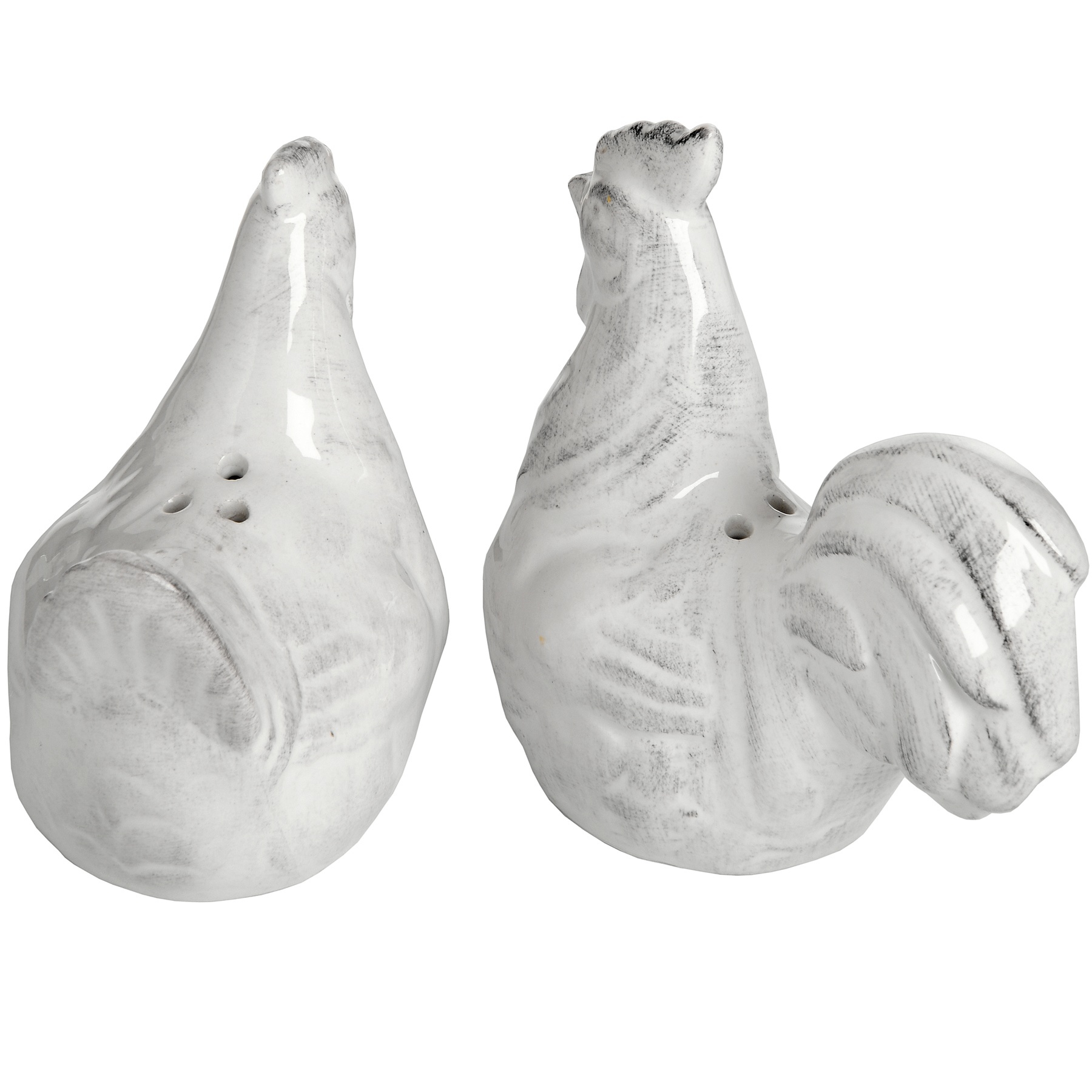 Hill Interiors Set of Two Salt and Pepper Hens