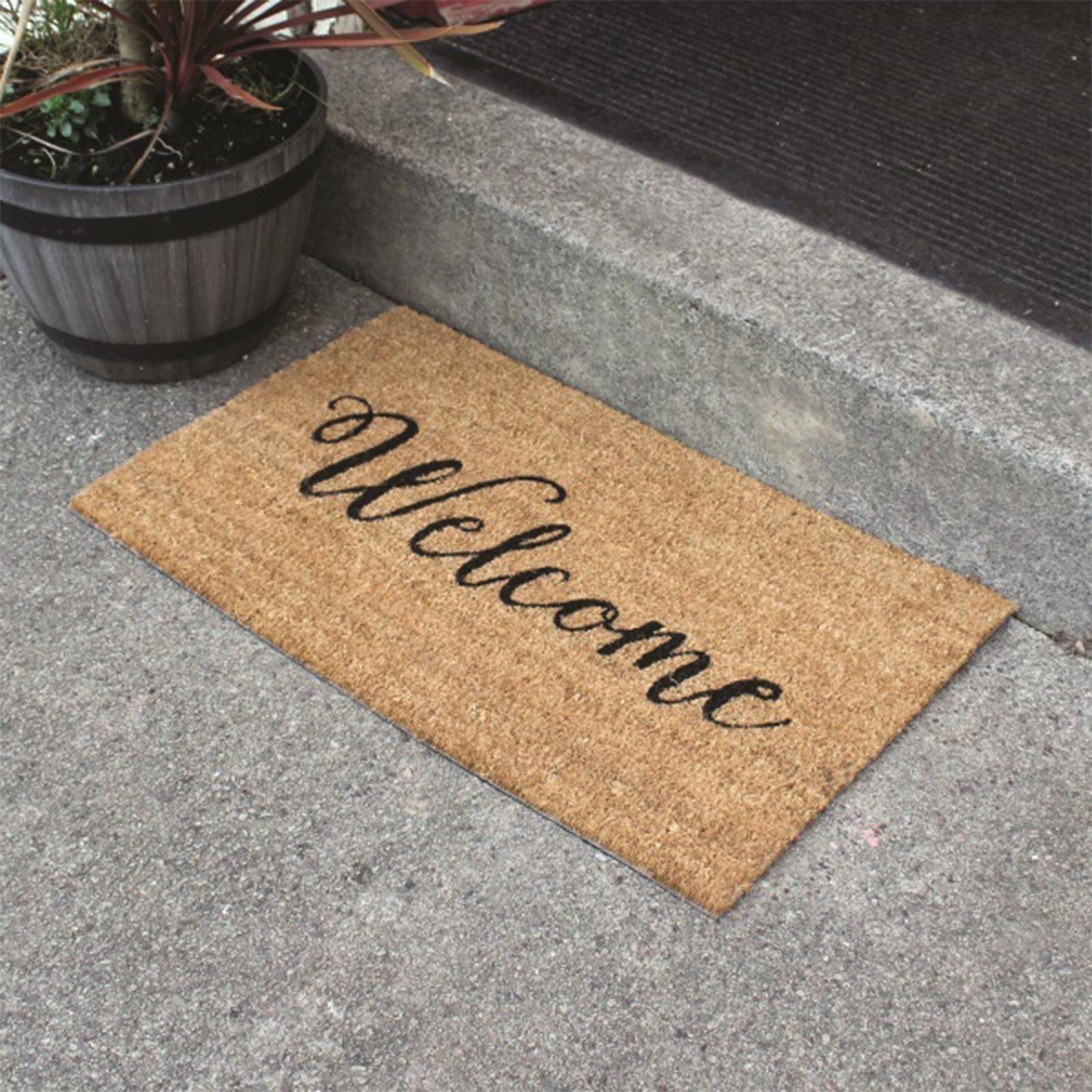 A LA Maison Welcome Door Mat