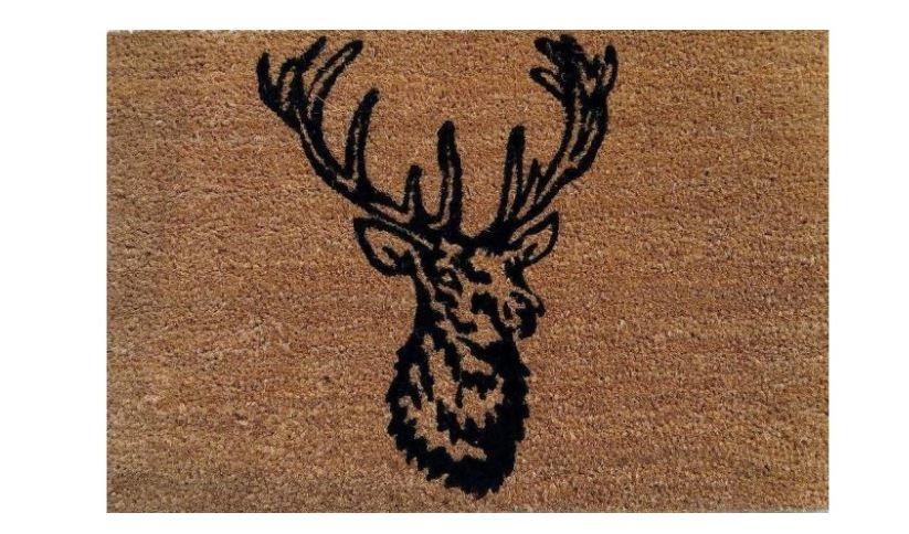 Besp-Oak Stag Door Mat