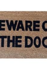 Besp-Oak Beware Of The Dog Door Mat