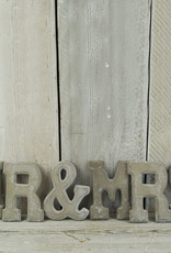 MR & MRS Letter Set