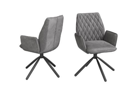 Torelli Zanetti Swivel Dining Chair