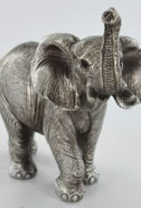 Antique Silver Elephant Ornament