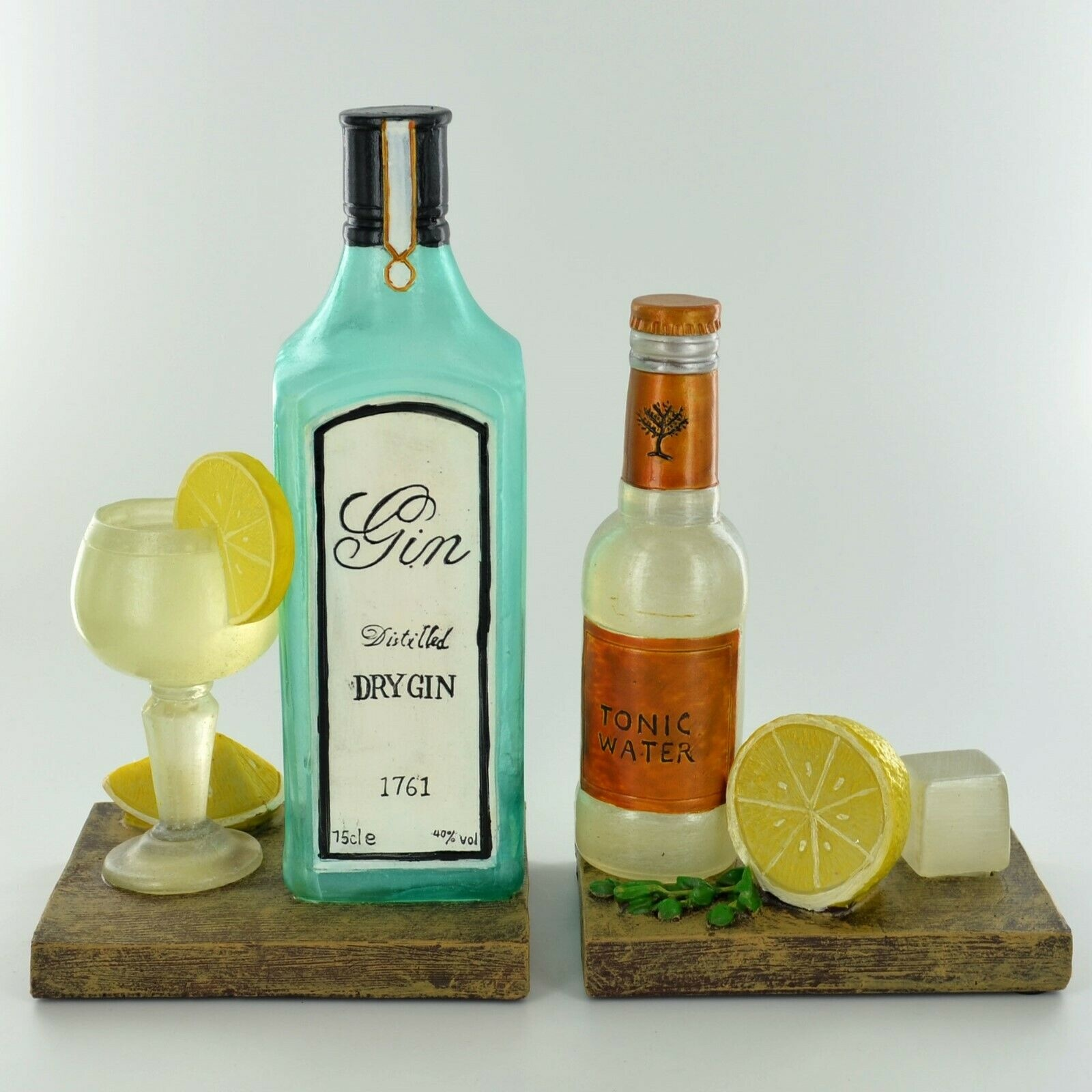Gin & Tonic Bookends