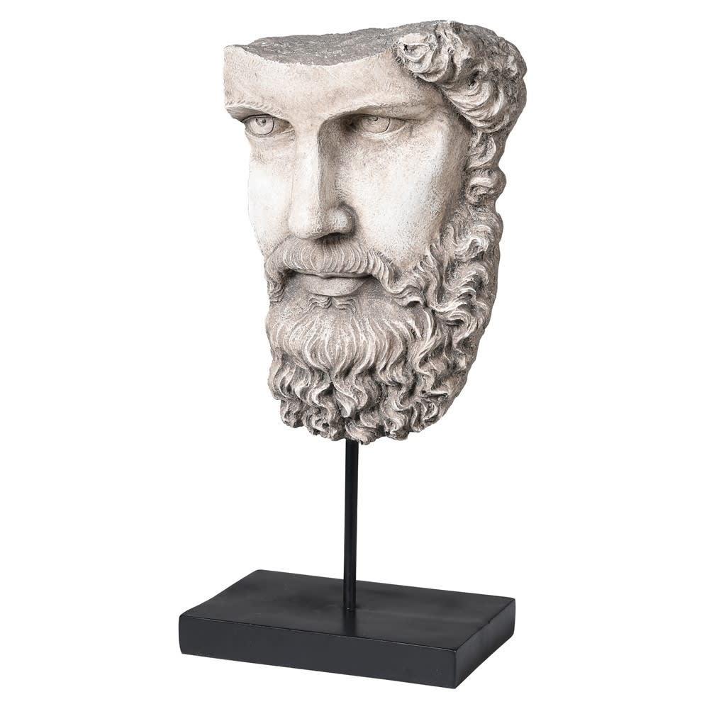 Socrates Head On Base