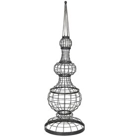 Distressed Wire Finial 80 cm