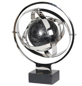 Nickel and Marble Armillary
